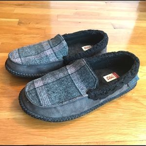 Dearfoams Plaid Slippers Men's 10